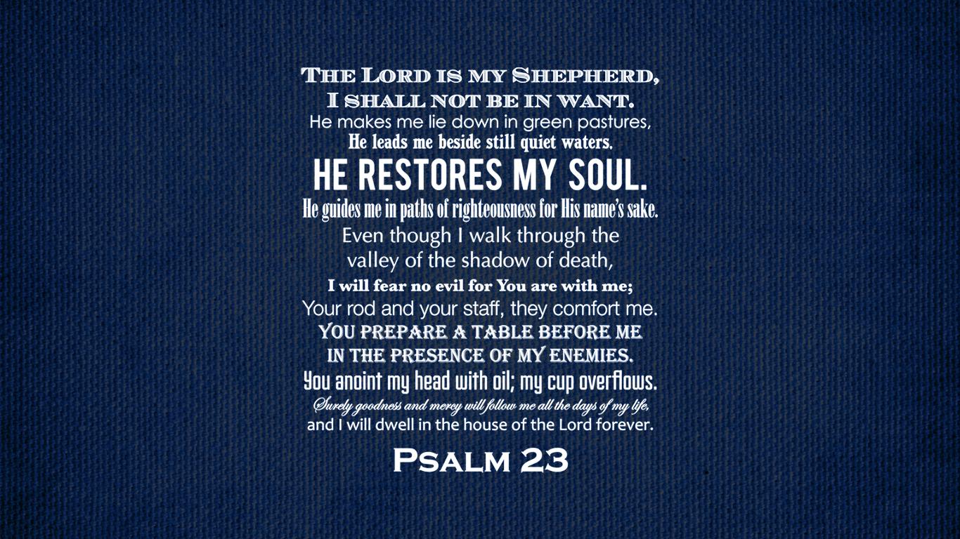 23 psalm wallpaper kjv wallpapersafari