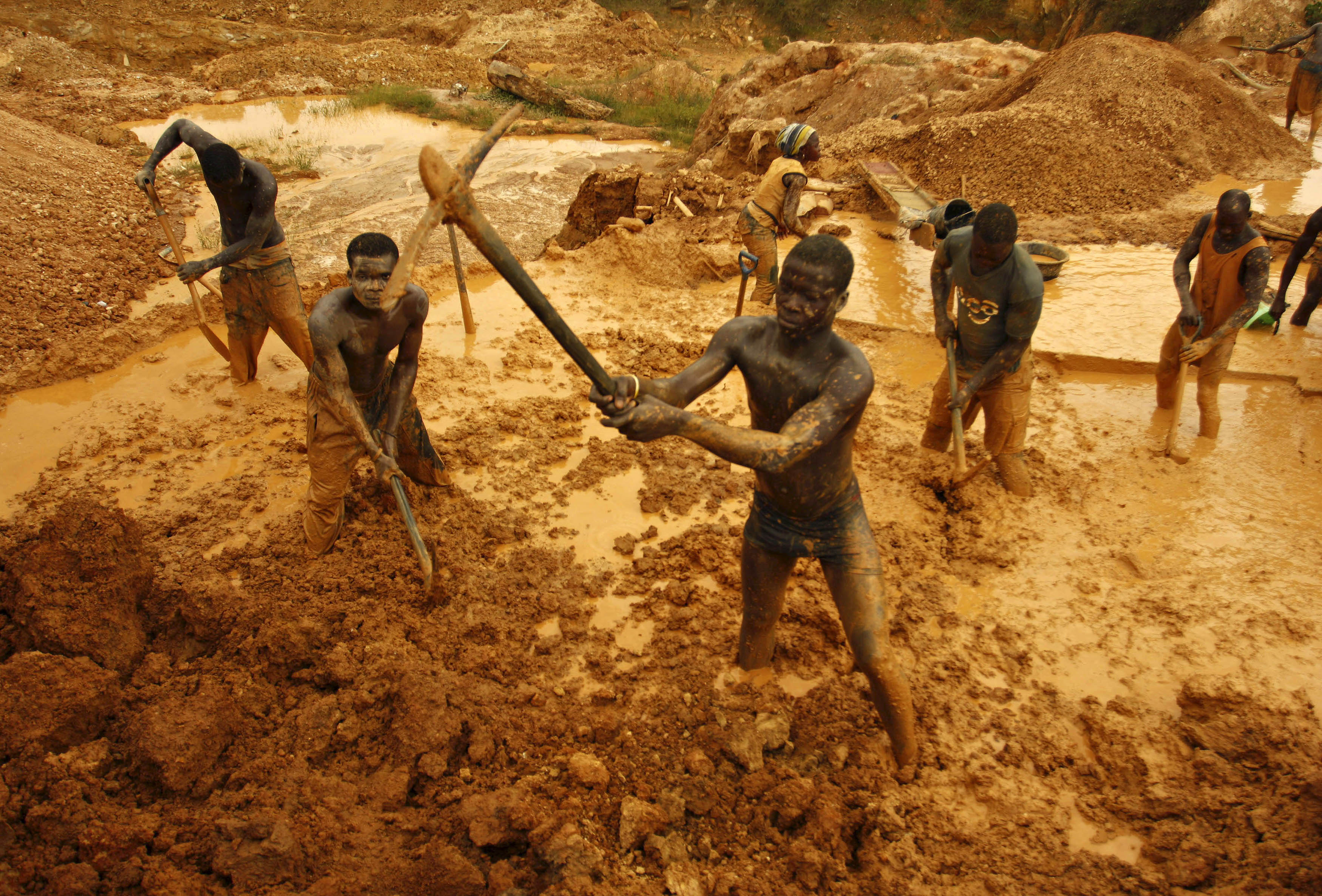 1 Ghana Gold Mines HD Wallpapers Background Images 3500x2372