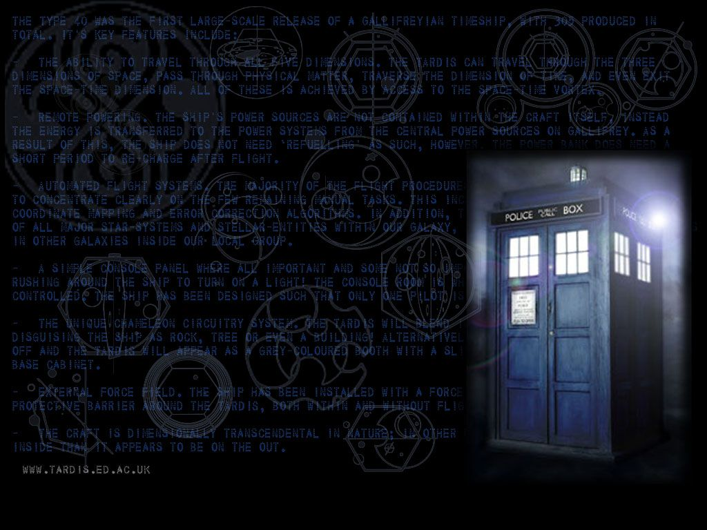 Doctor Who Wallpapers 1024x768
