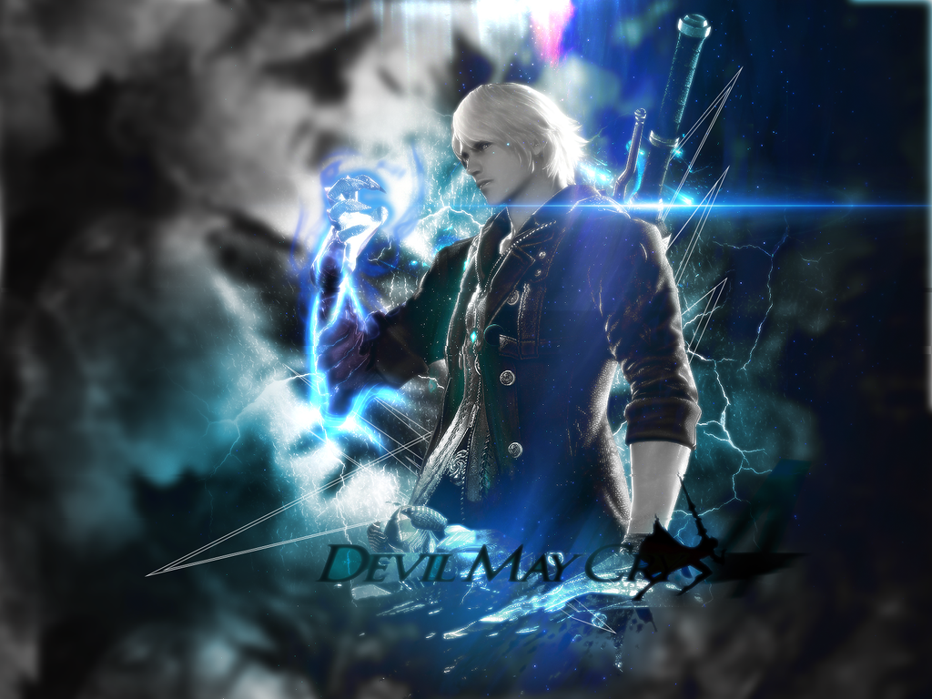 Free Download Devil May Cry 4 Wallpaper By Cyclomza On Deviantart