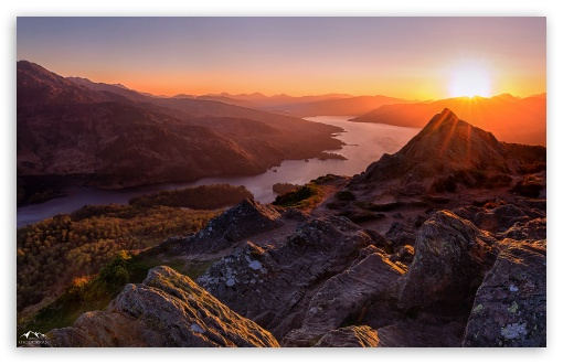 Beautiful Sunset Scotland HD wallpaper for Wide 1610 53 Widescreen 510x330