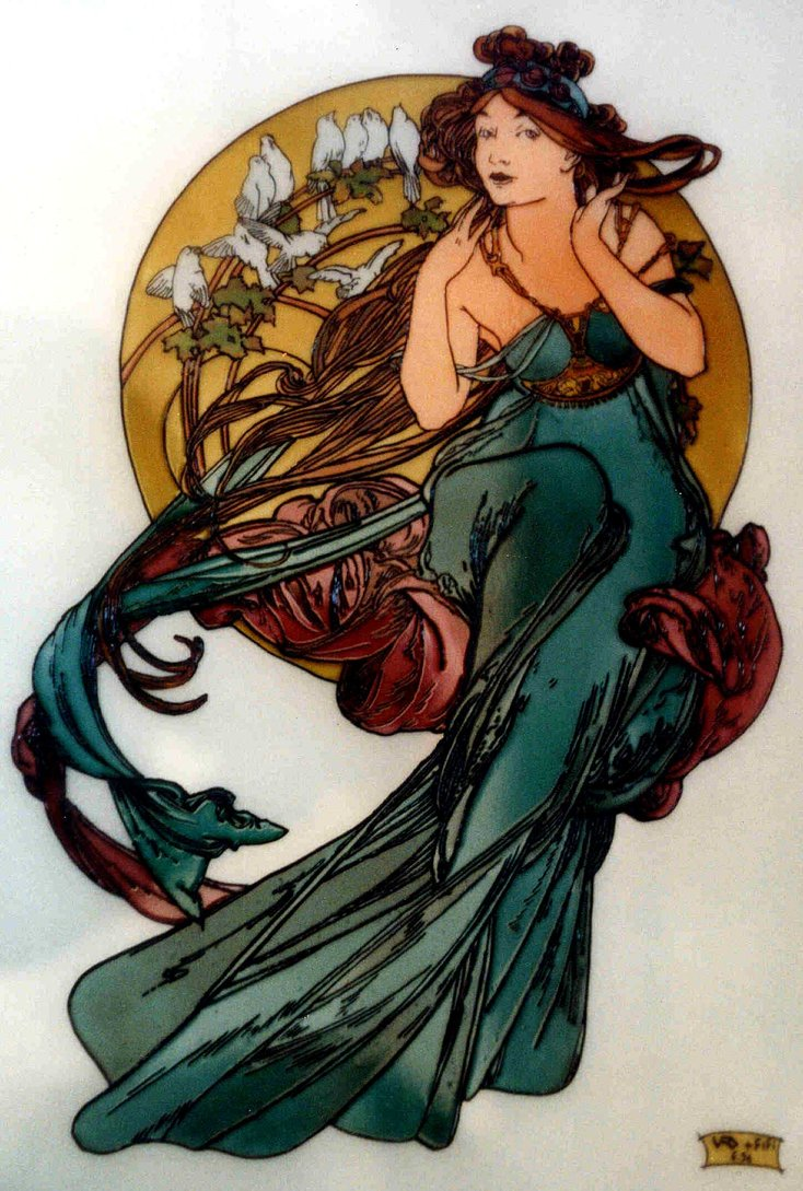 Art Nouveau 05 by mohamed ufo 734x1089