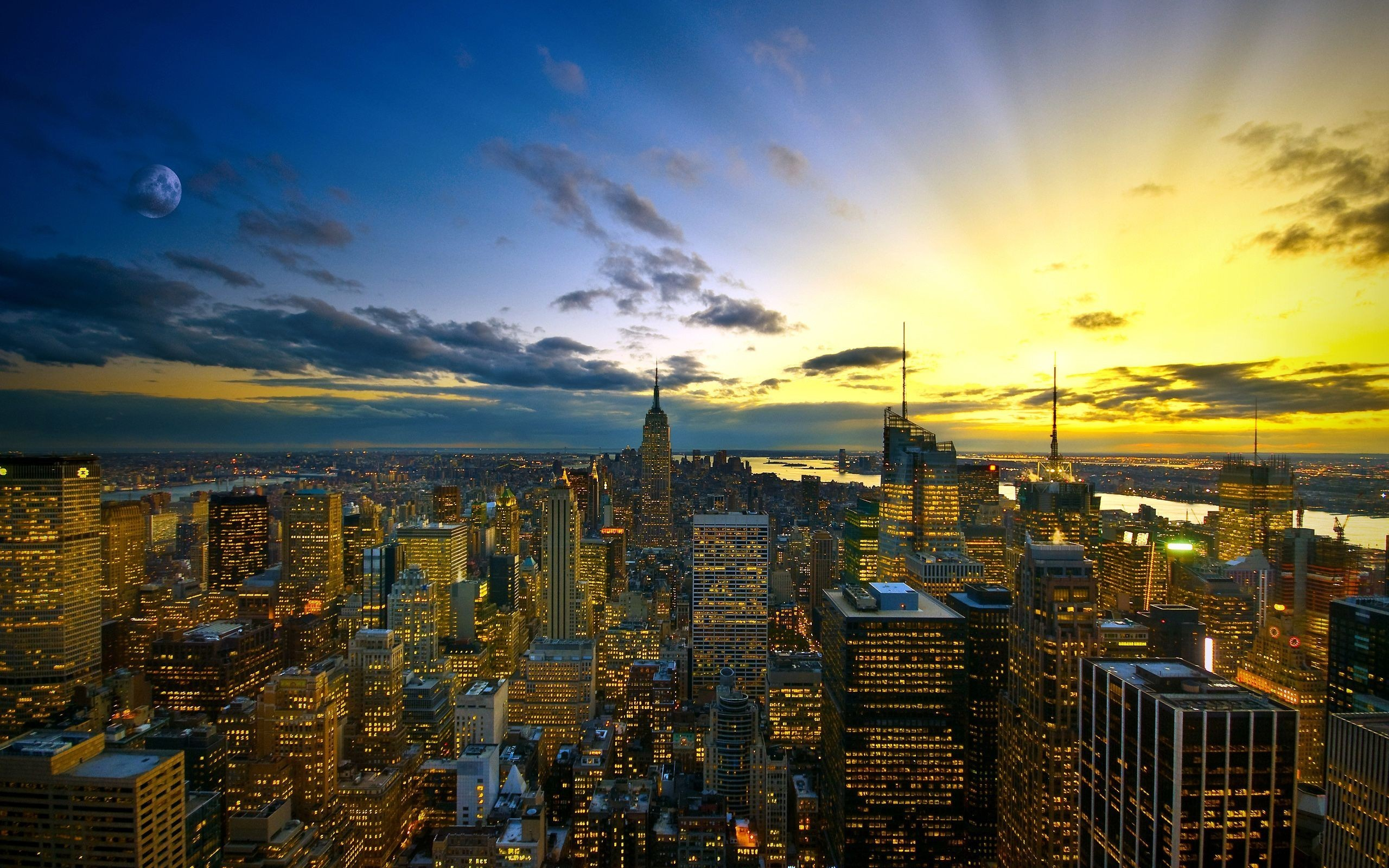 2560x1600 New York Metropolis desktop PC and Mac wallpaper 2560x1600