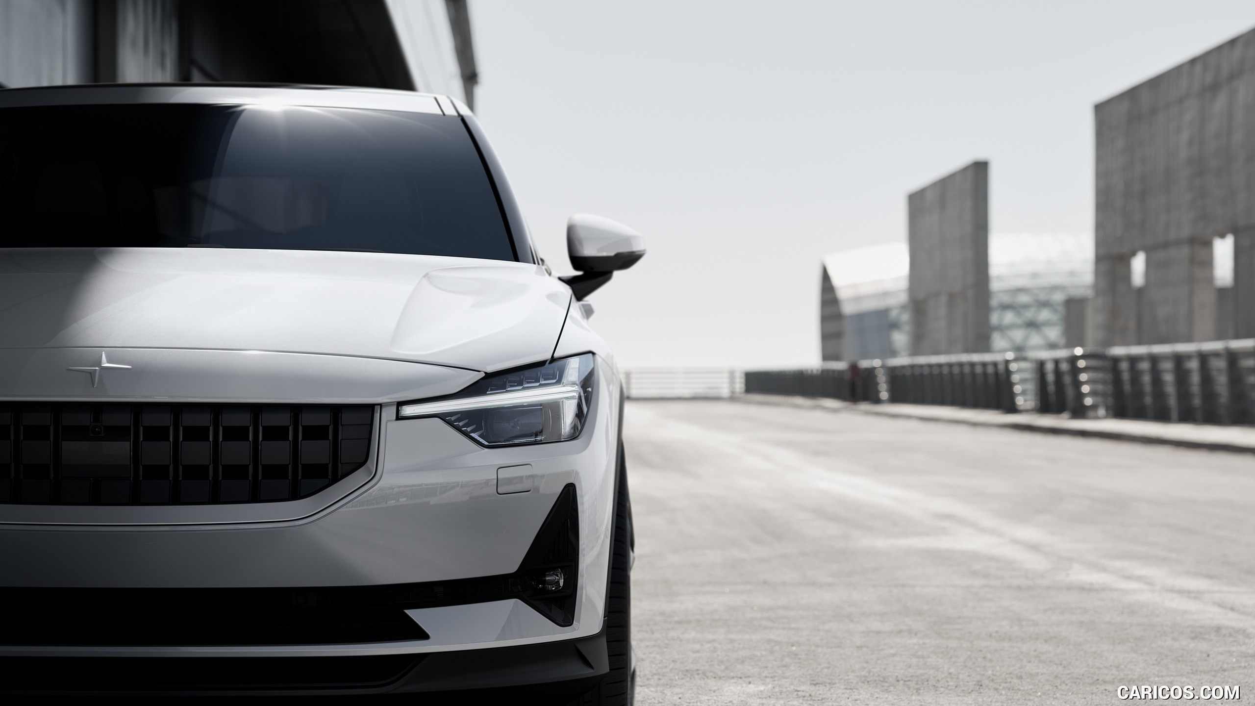 2020 Polestar 2   Headlight HD Wallpaper 9 2560x1440