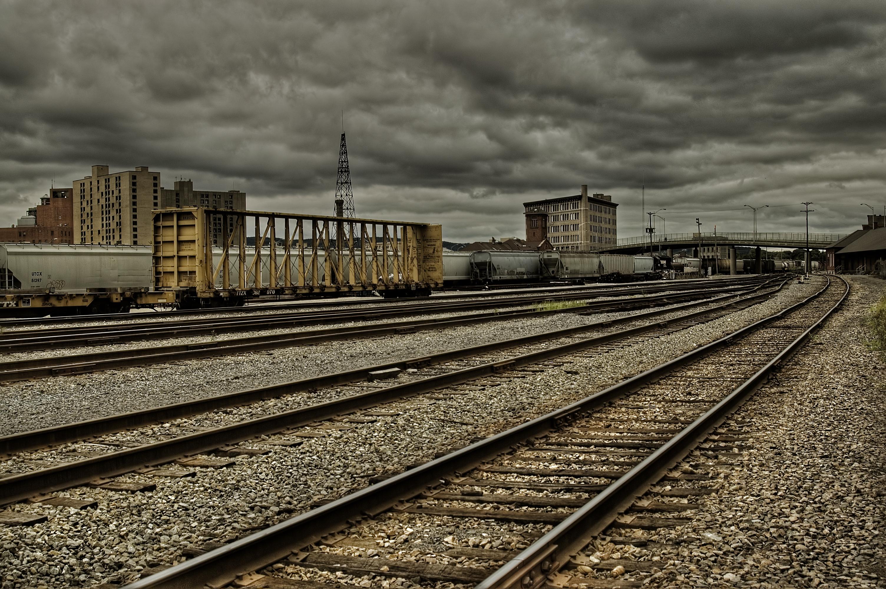 trains railroad tracks HD Wallpaper   Trains Buses 245681 3008x2000