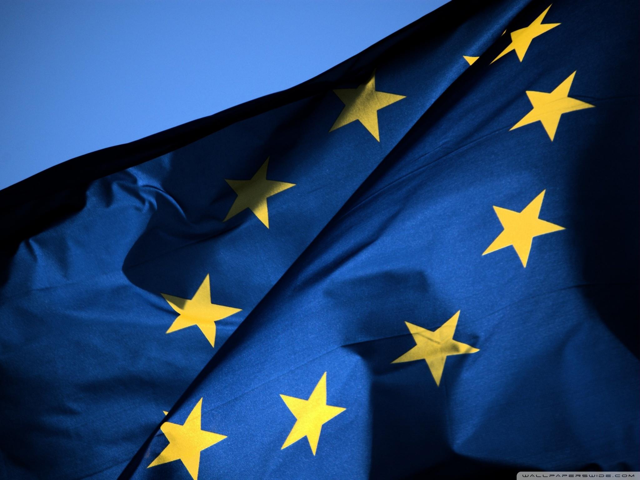 EU Flag 4K HD Desktop Wallpaper for 4K Ultra HD TV Wide 2048x1536