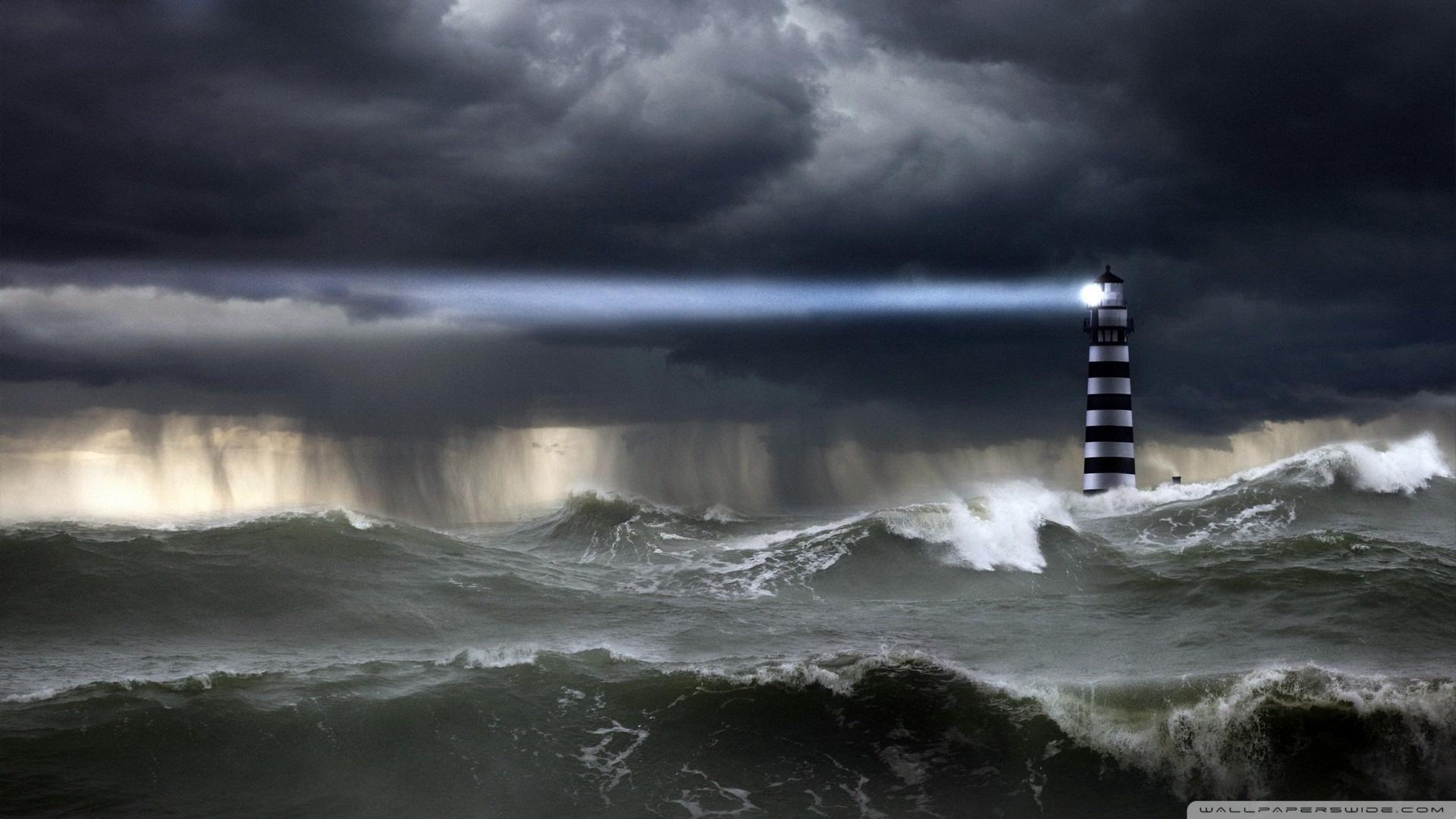 Sea Storm Wallpaper 1920x1080 Sea, Storm