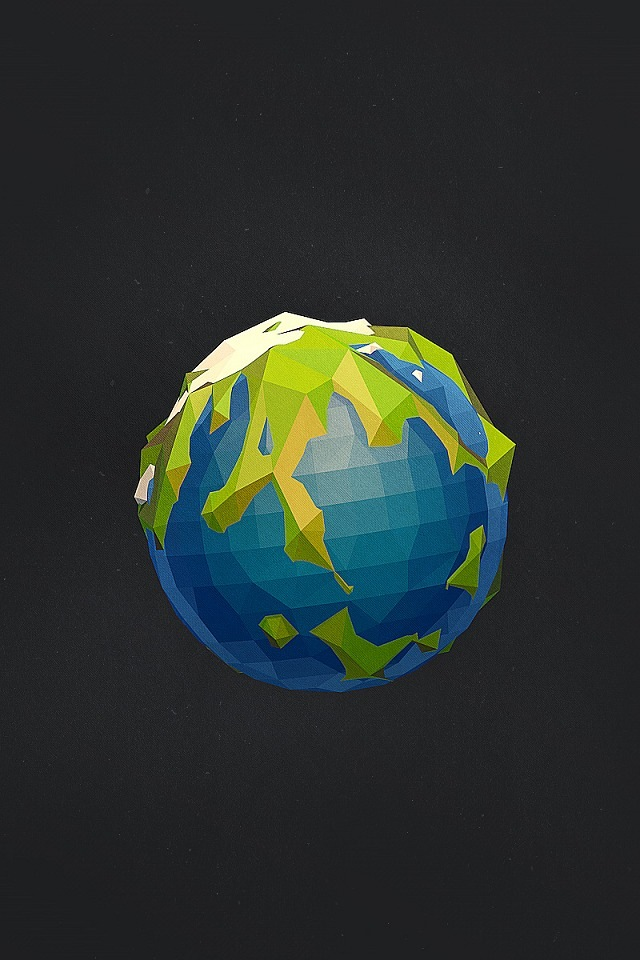 3D Earth IPhone 4s Wallpaper Download IPhone Wallpapers IPad 640x960