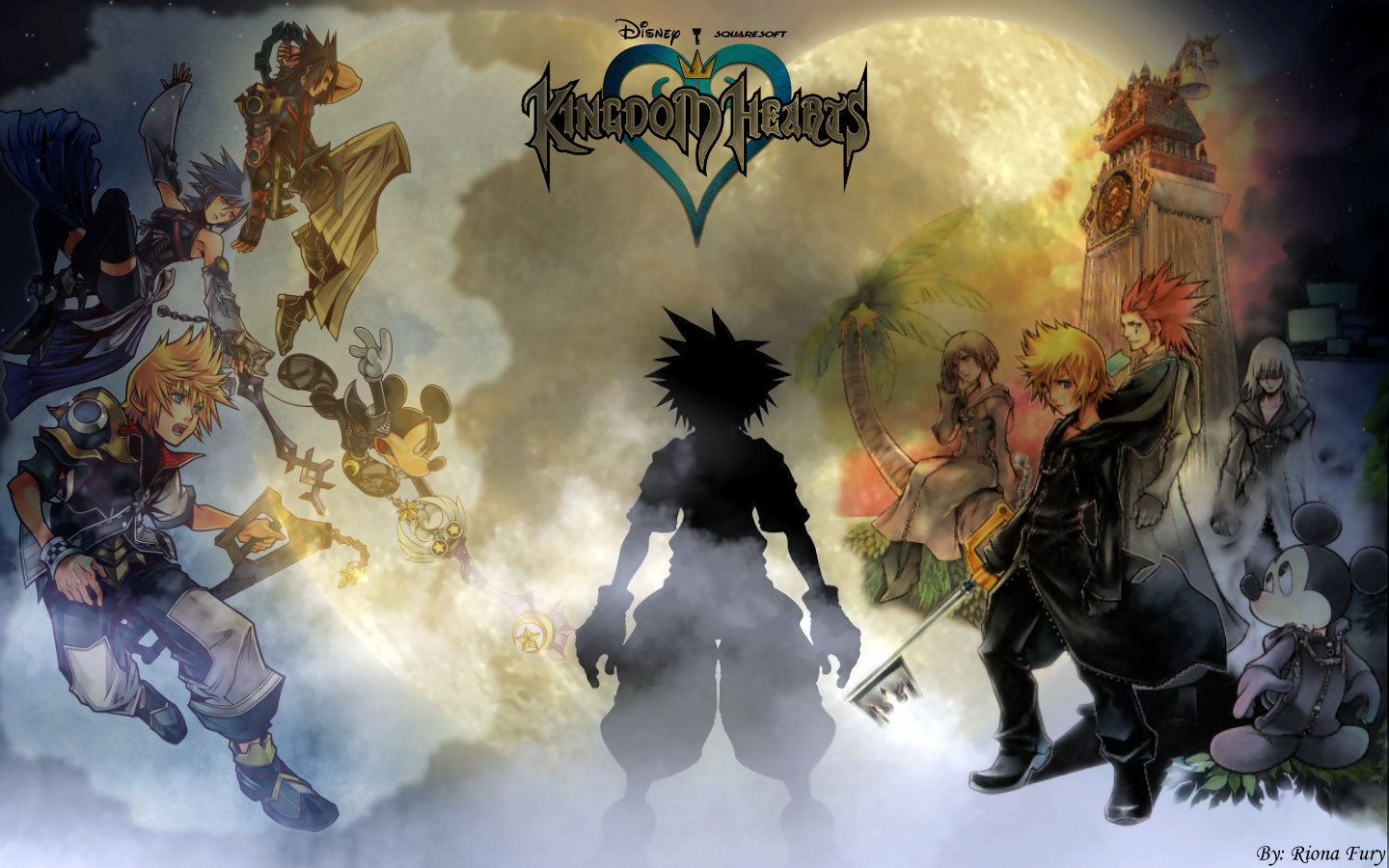 kingdom hearts   Kingdom Hearts Wallpaper 19106984 1440x900