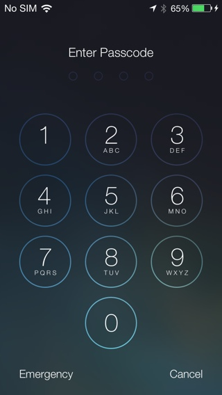how to get the lock screen password for ios