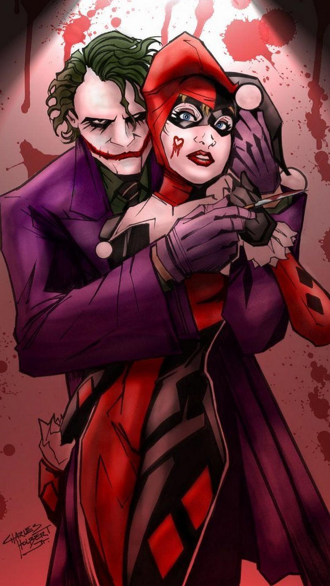 Free Joker And Harley IPhone Wallpaper 2019 3D