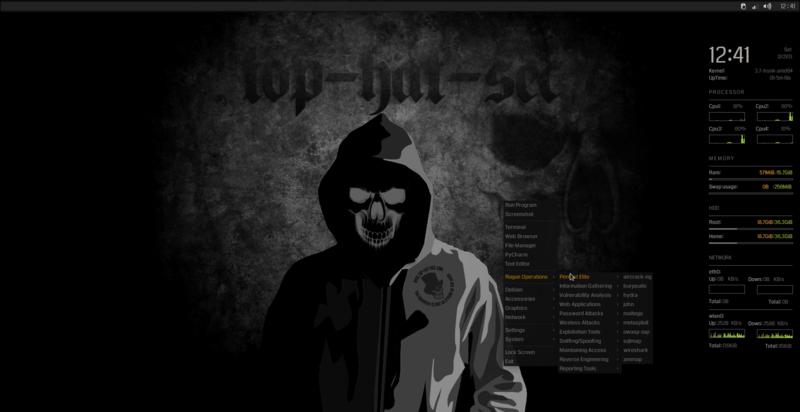 Kali Linux Desktop Wallpaper  kali tools now properly work 800x412
