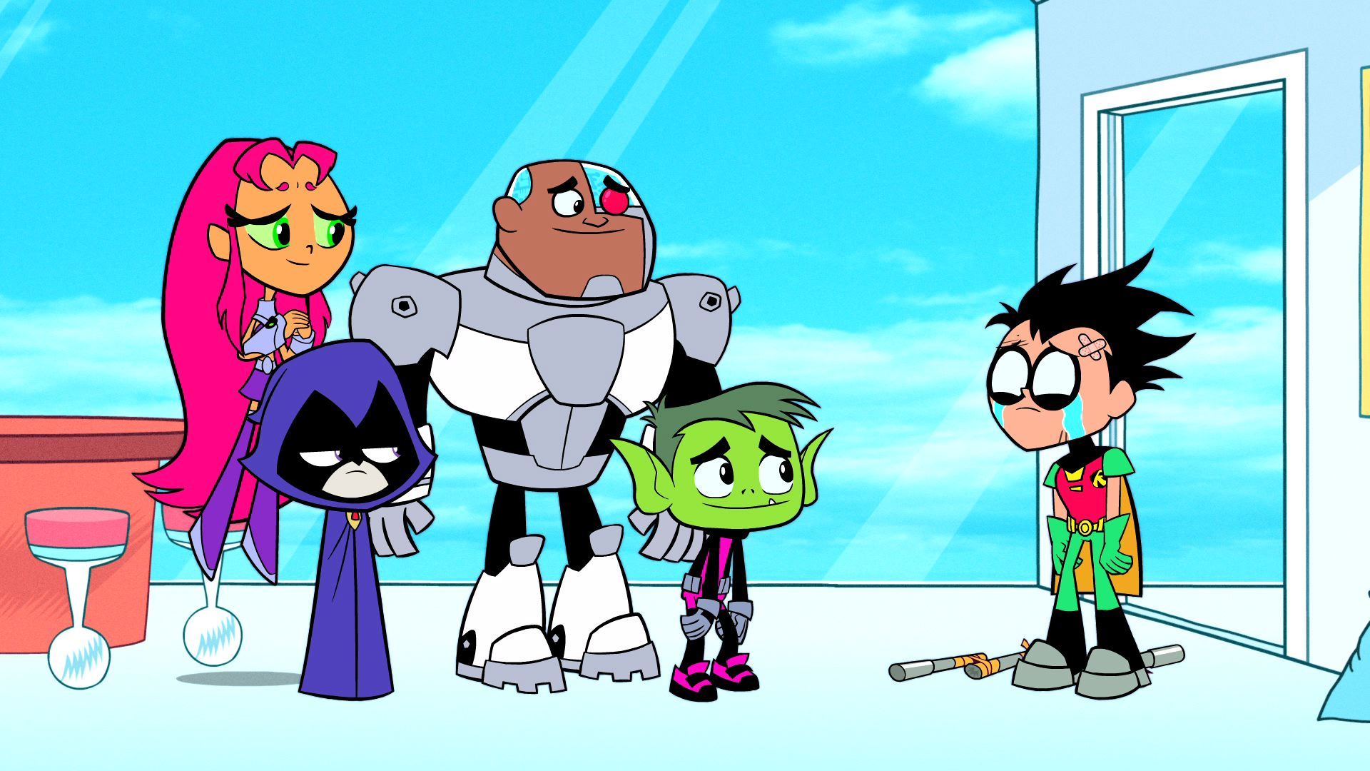 Teen Titans Go Wallpapers Hd - Wallpapersafari-4701