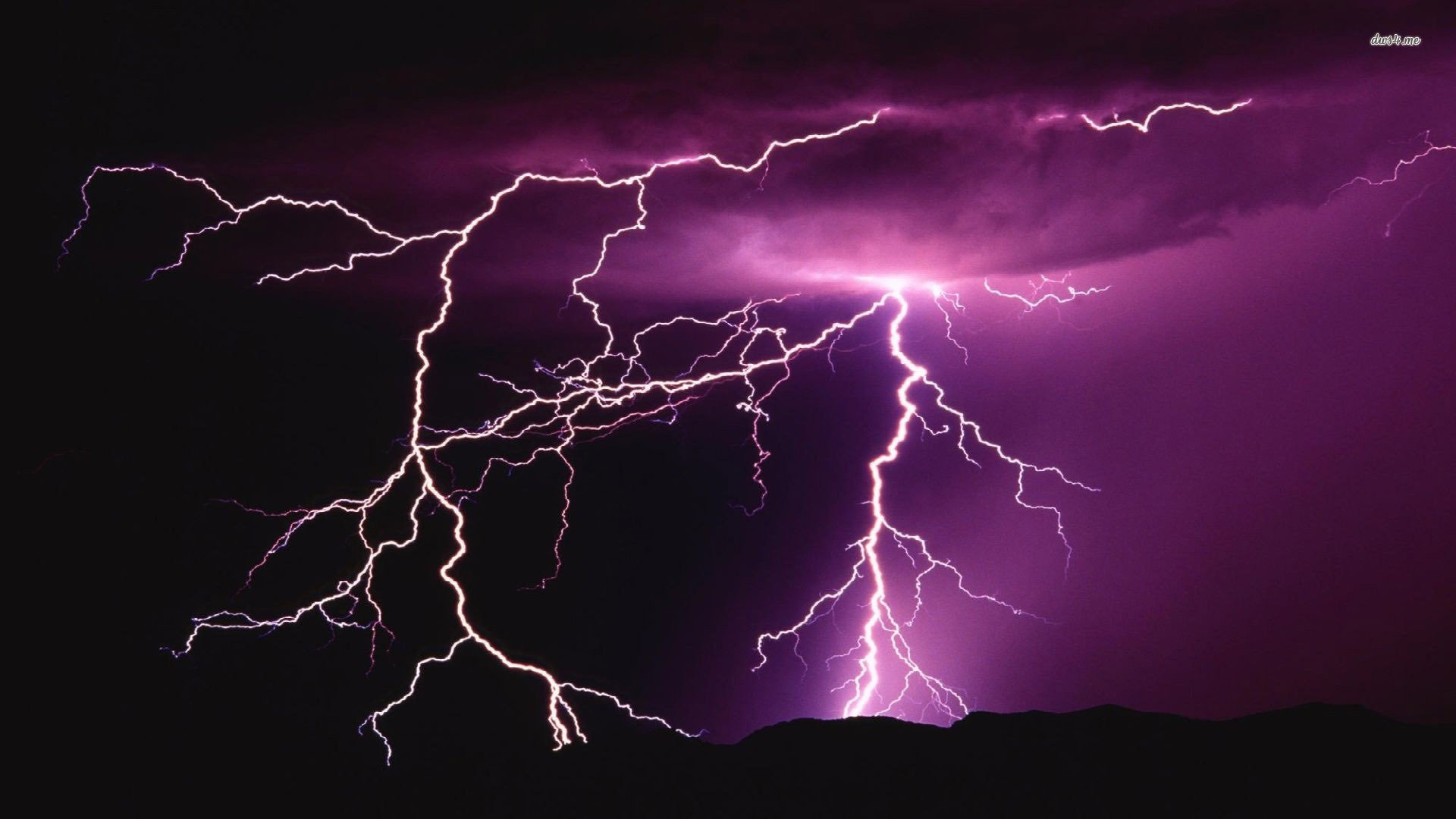 purple lightning wallpaper wallpapersafari