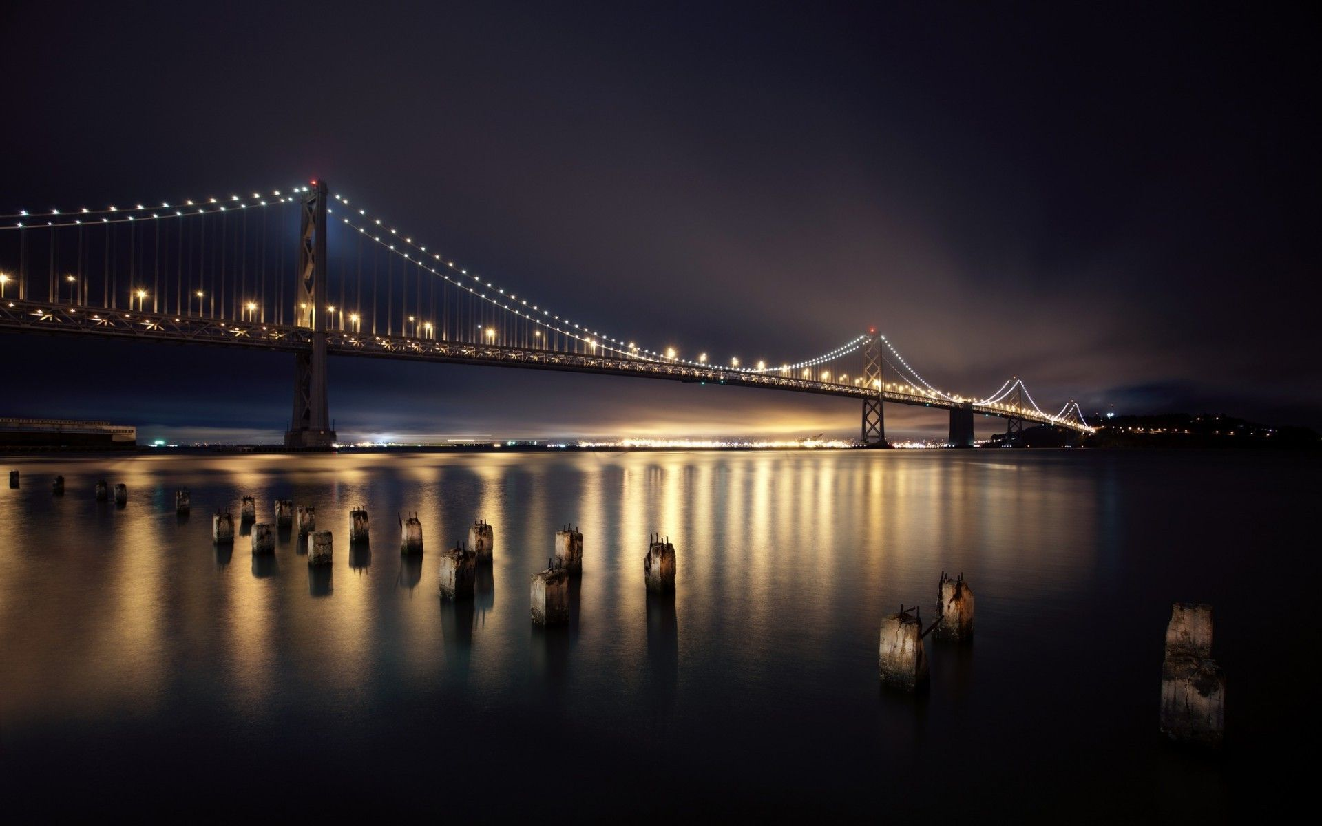 Download San Francisco Wallpapers The Golden Area Through The 1920x1200