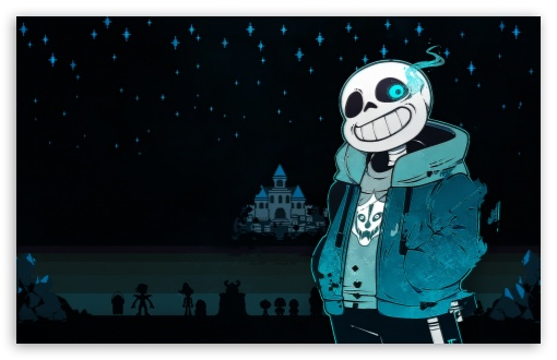 Undertale Sans HD desktop wallpaper Widescreen High Definition 510x330