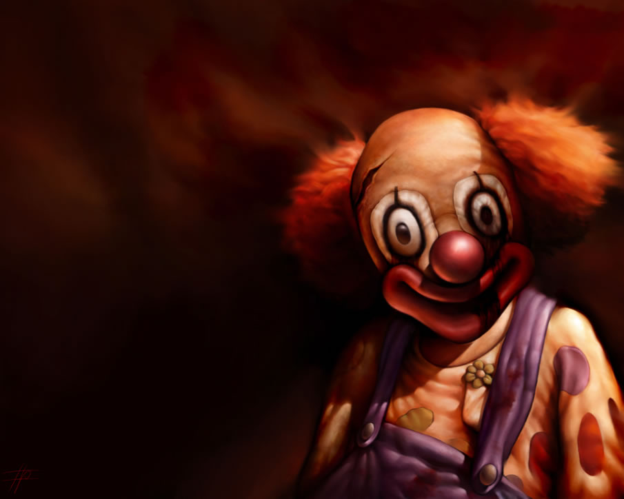 Evil clown wallpapers wallpapersafari - Scary animated backgrounds ...