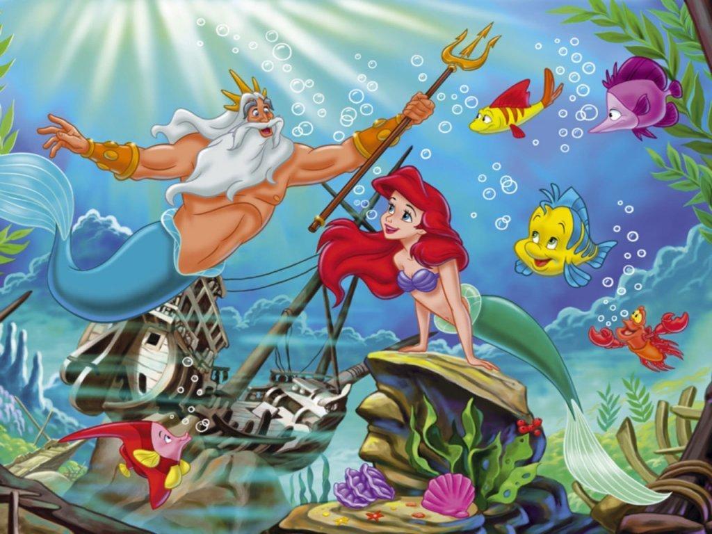 Ariel Wallpaper   Disney Princess Wallpaper 6248902 1024x768