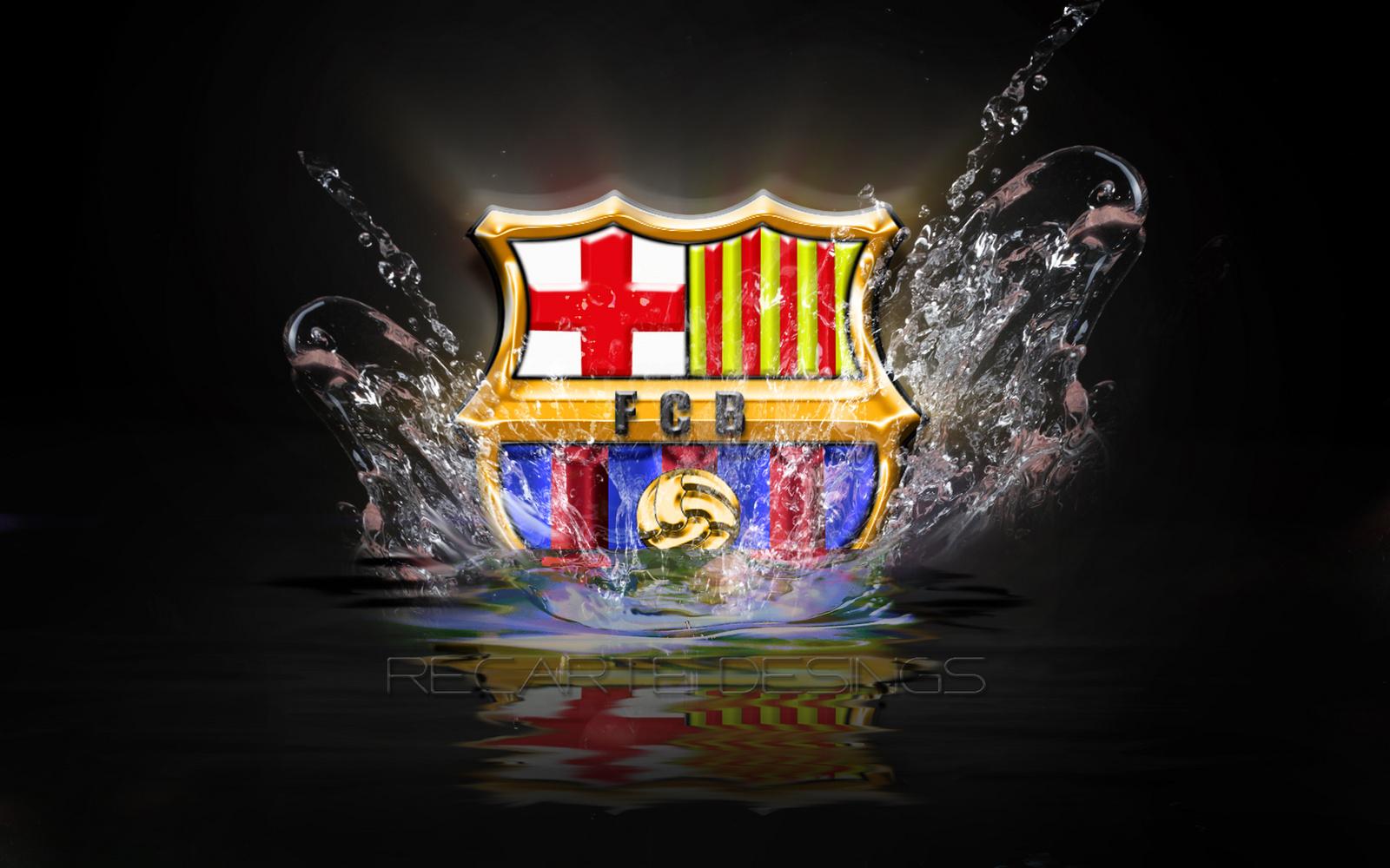 Free FC Barcelona Logo HD Wallpapers 2013 2014