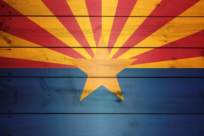 Arizonas Flag The Wooden Arizonan Flag 1500x1000