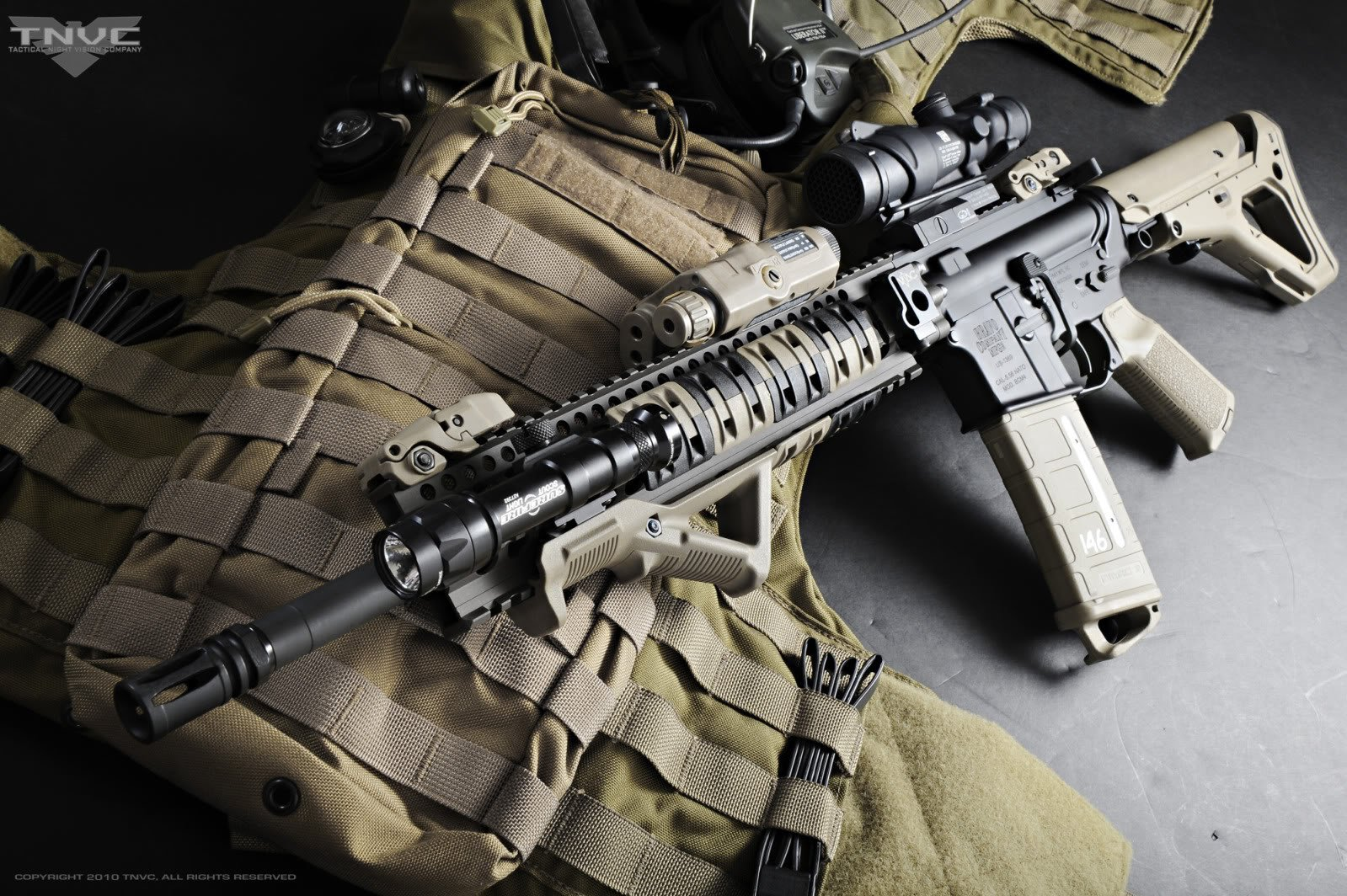 Weapons Assault Rifle Gun Wallpaper 1599x1064