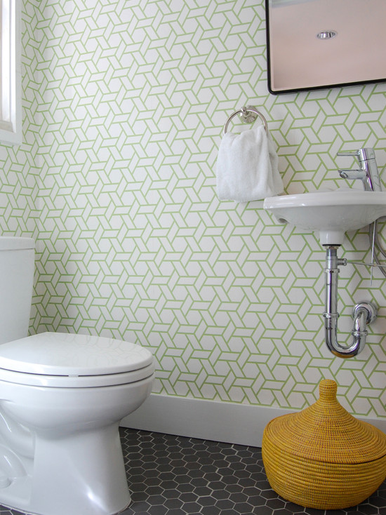 Canovas Trellis Wallpaper yellow woven basket geometric wallpaper 550x734
