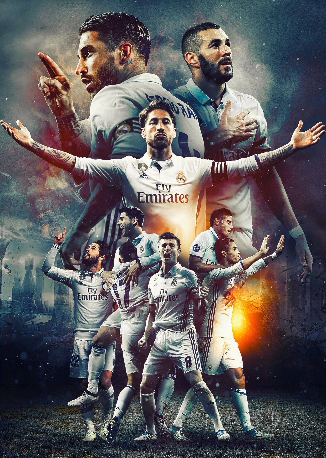 Real Madrid   HD Wallpaper by Kerimov23 1368x1920
