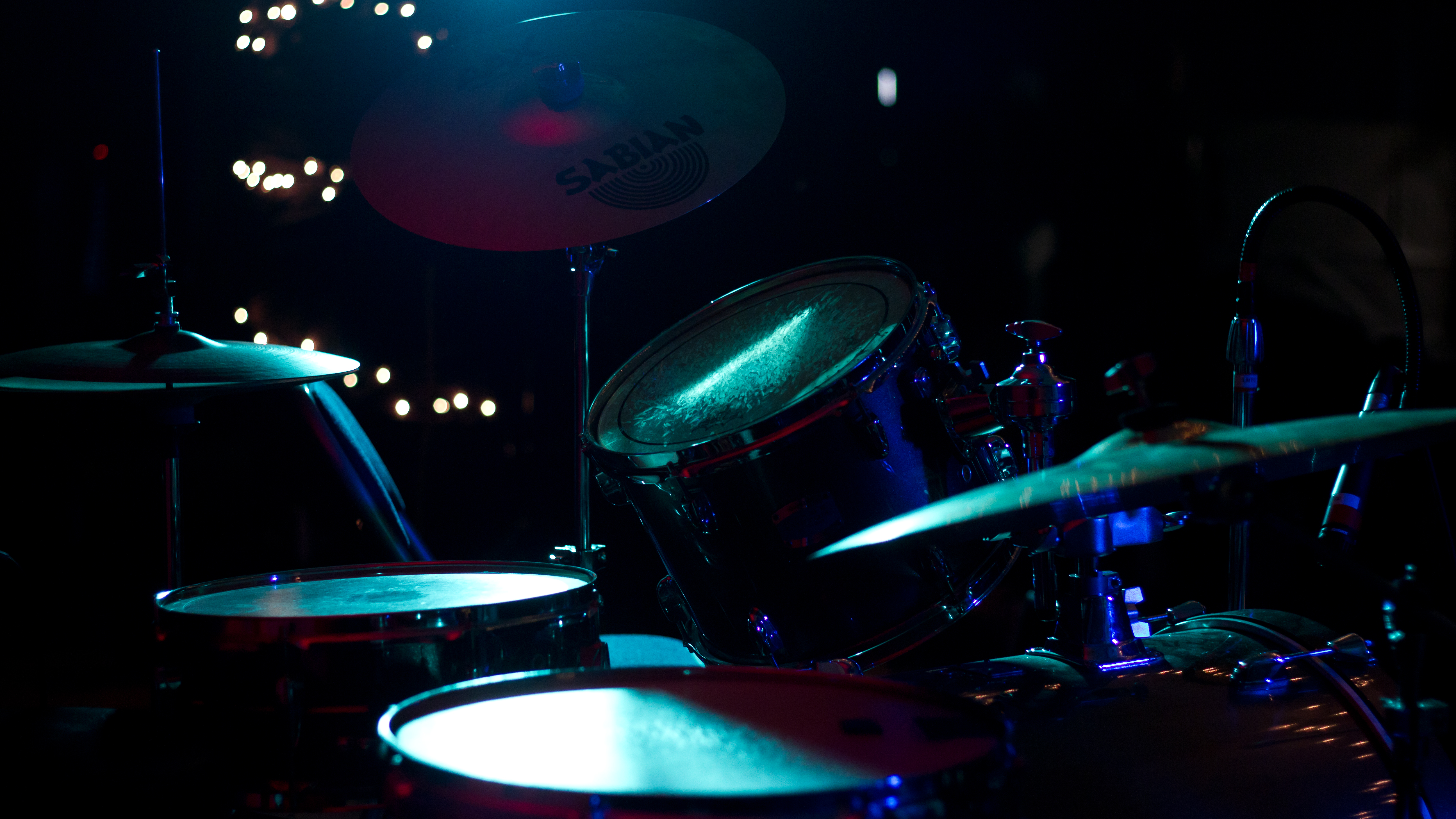Live Drums 5k Retina Ultra HD Wallpaper Background Image 5184x2916