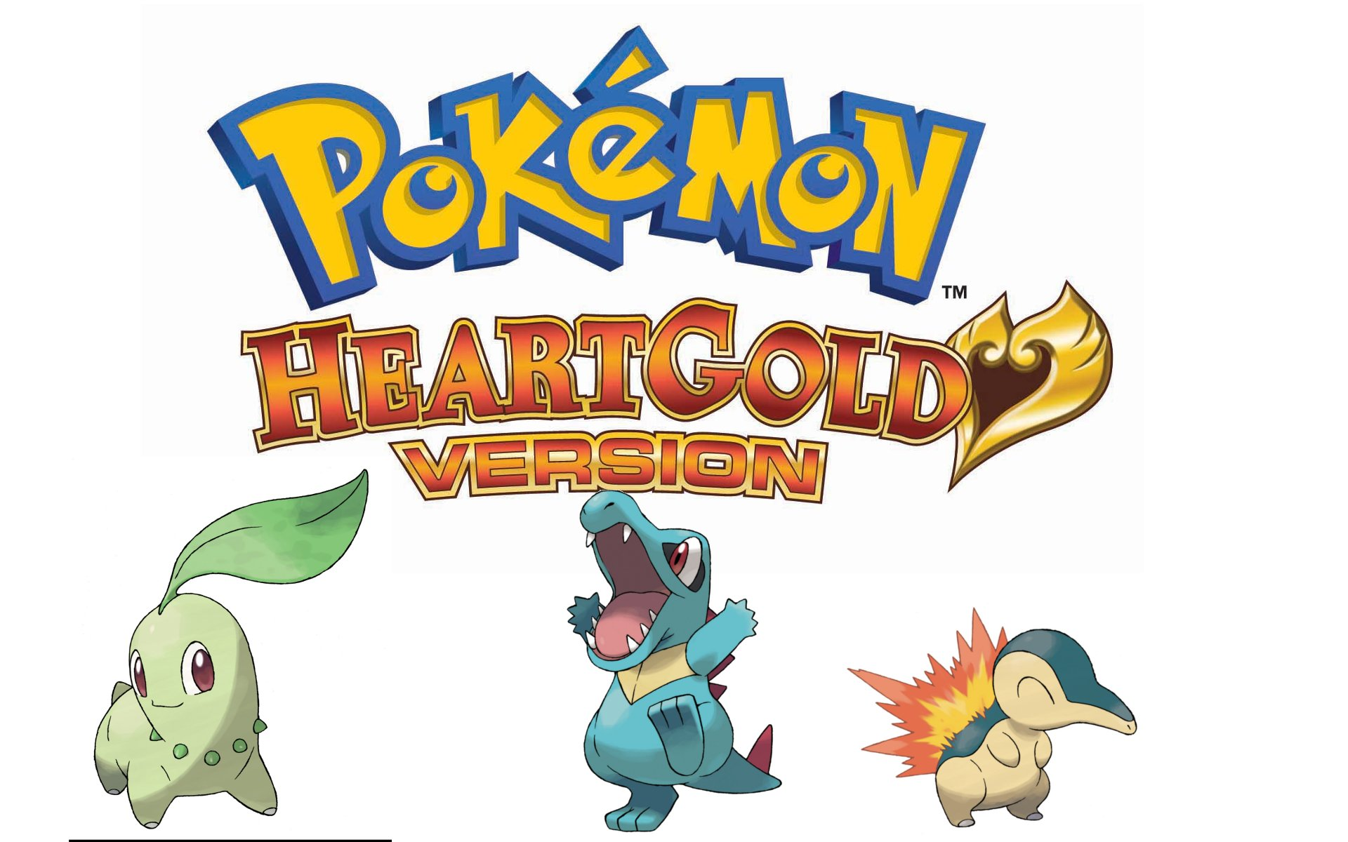 Pokemon HeartGold Soulsilver Versions Wallpaper Wii Play Games 1920x1200