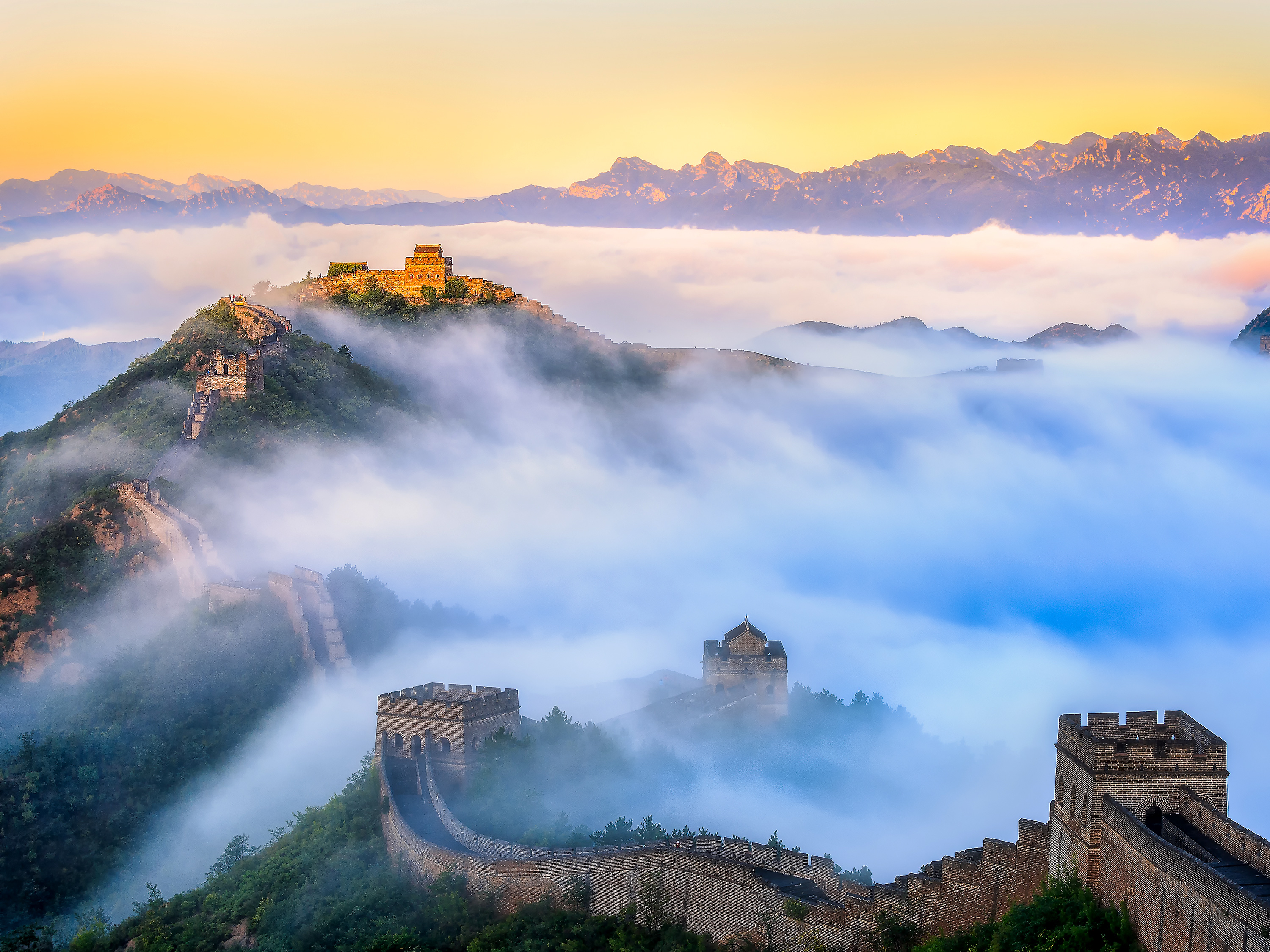 Great Wall of China UNESCO World Heritage Site 3000x2250