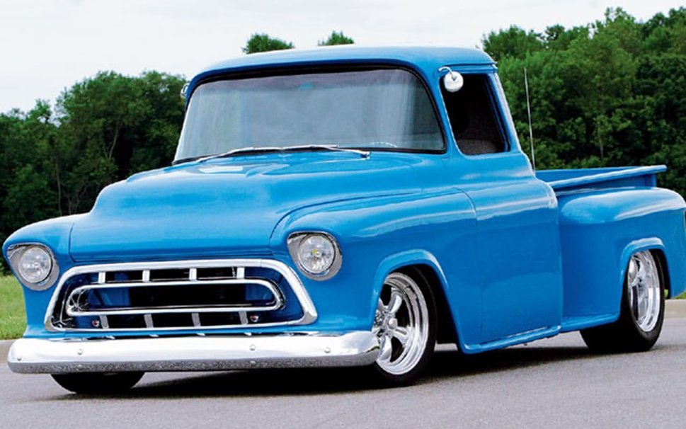 57 Chevy Truck Wallpaper Wallpapersafari HD Wallpapers Download free images and photos [musssic.tk]