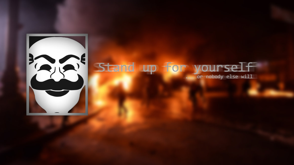 FSociety - Euromaidan [1920x1080] by kozmosindigo on DeviantArt