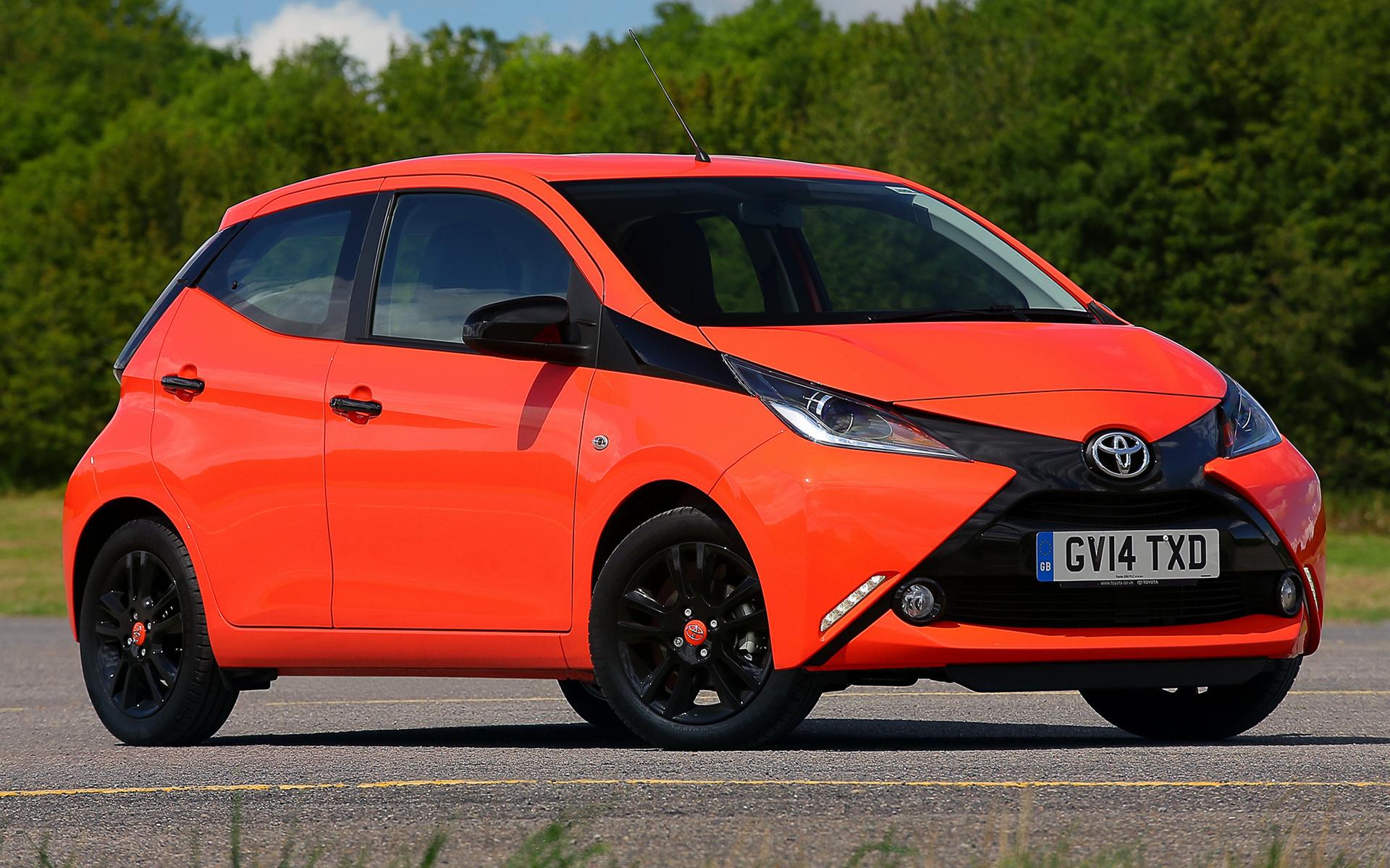 2014 Toyota Aygo x cite 5 door UK   Wallpapers and HD Images 1920x1200