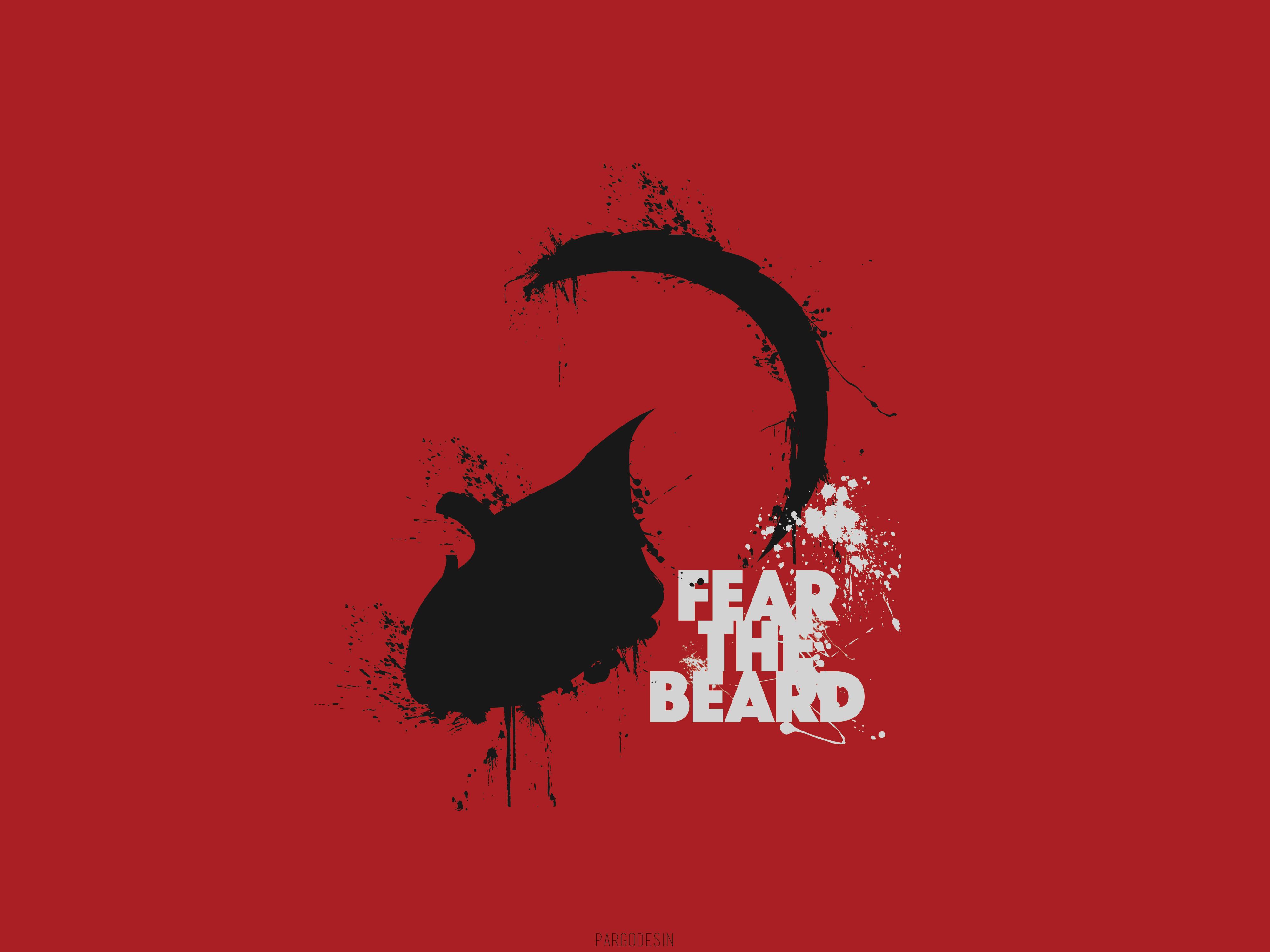 FEAR THE BEARD James Harden by PARGOdesign 4000x3000
