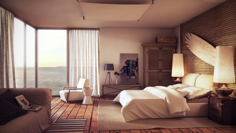 Floor And Wicker Design Ideas For Bedroom Fur Carpet Also Wallpaper 1440x810