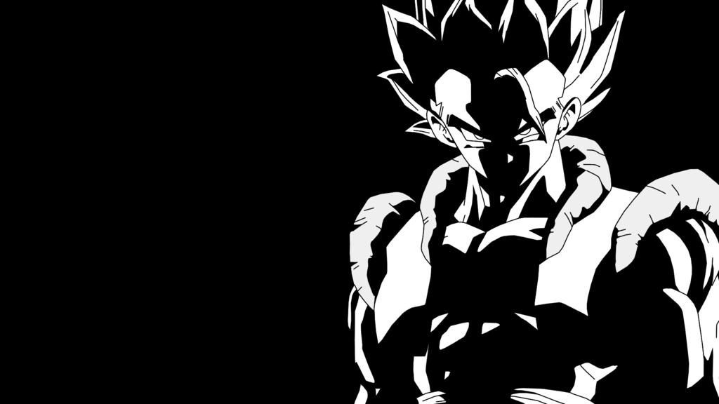 Goku Black And White Wallpaper Hd