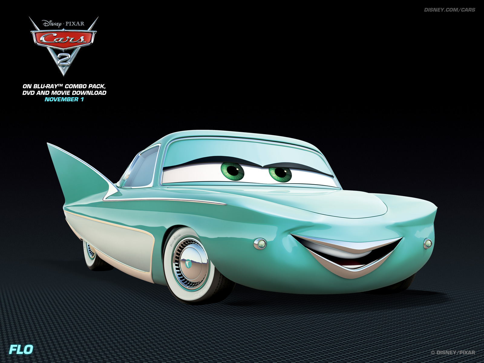 Flo   Disney Pixar Cars 2 Wallpaper 28104773 1600x1200