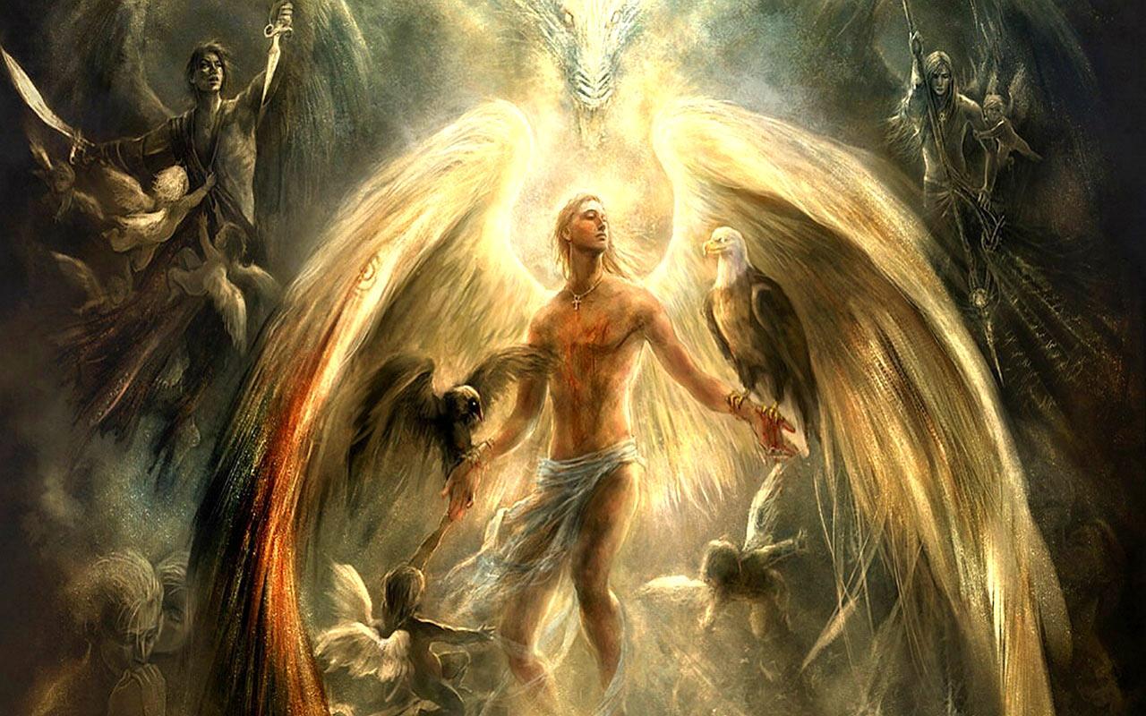 Black guardian angels pictures
