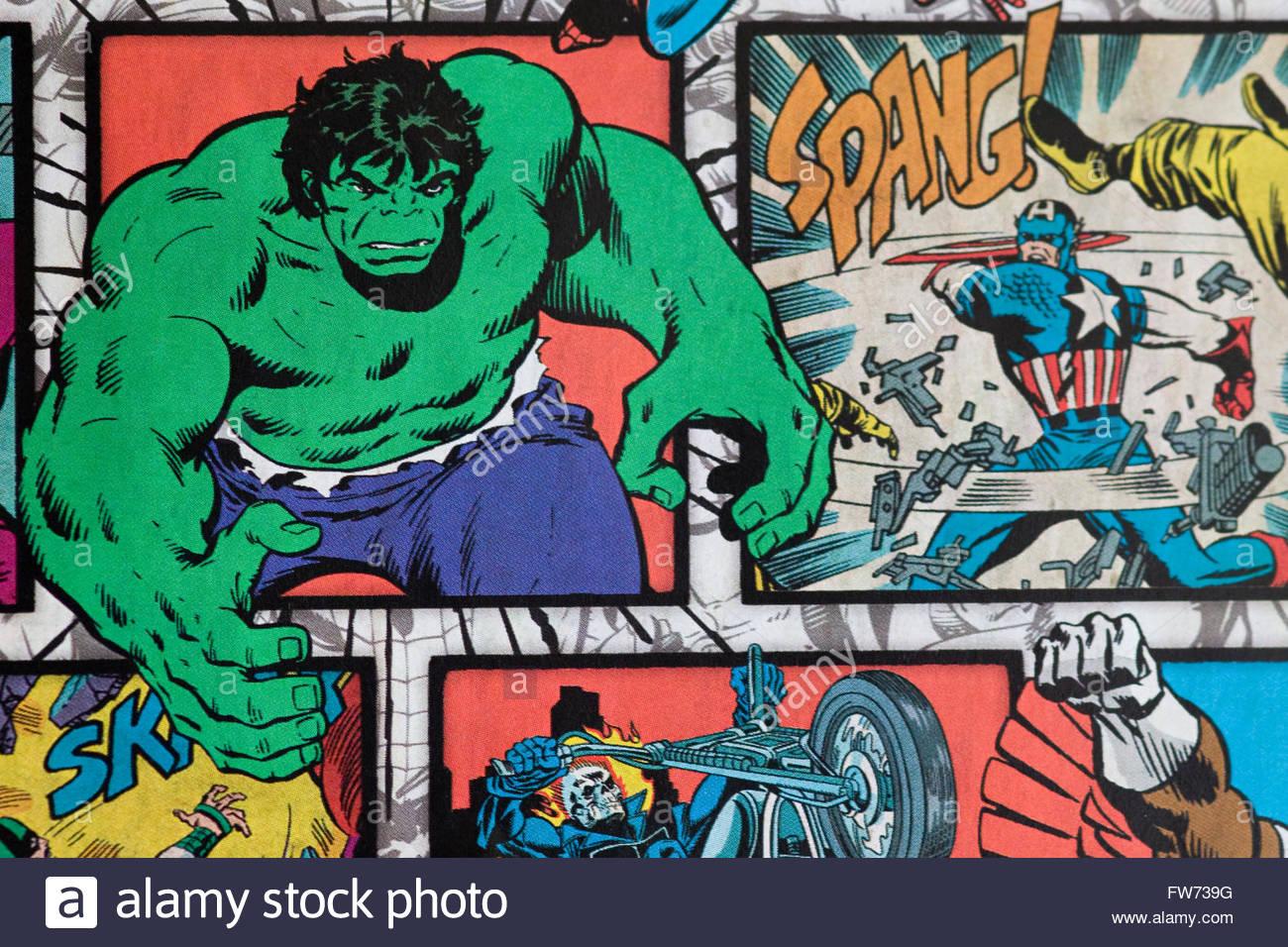 Hulk Comic Stock Photos Hulk Comic Stock Images   Alamy 1300x956