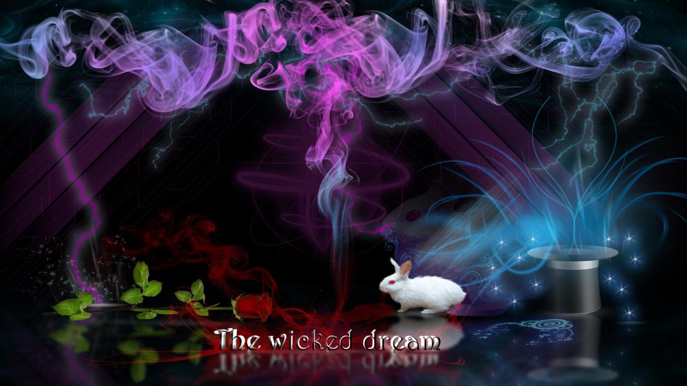 com13661366x768 the wicked dream desktop pc and mac wallpaper 1366x768
