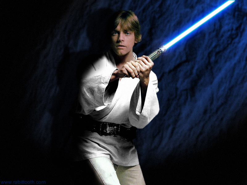Luke Skywalker Con Atuendo de Piloto de X Wing Fighter 800x600