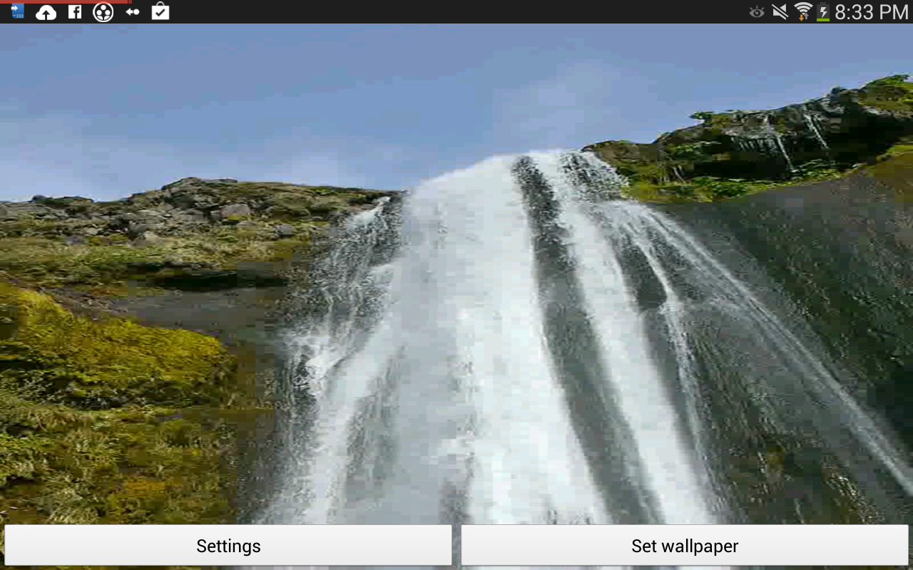 waterfall live wallpapers in hd quality of 50 waterfalls from around 1280x800