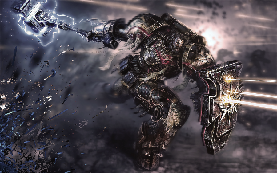 Space Marine Wallpaper by Thursar 900x563