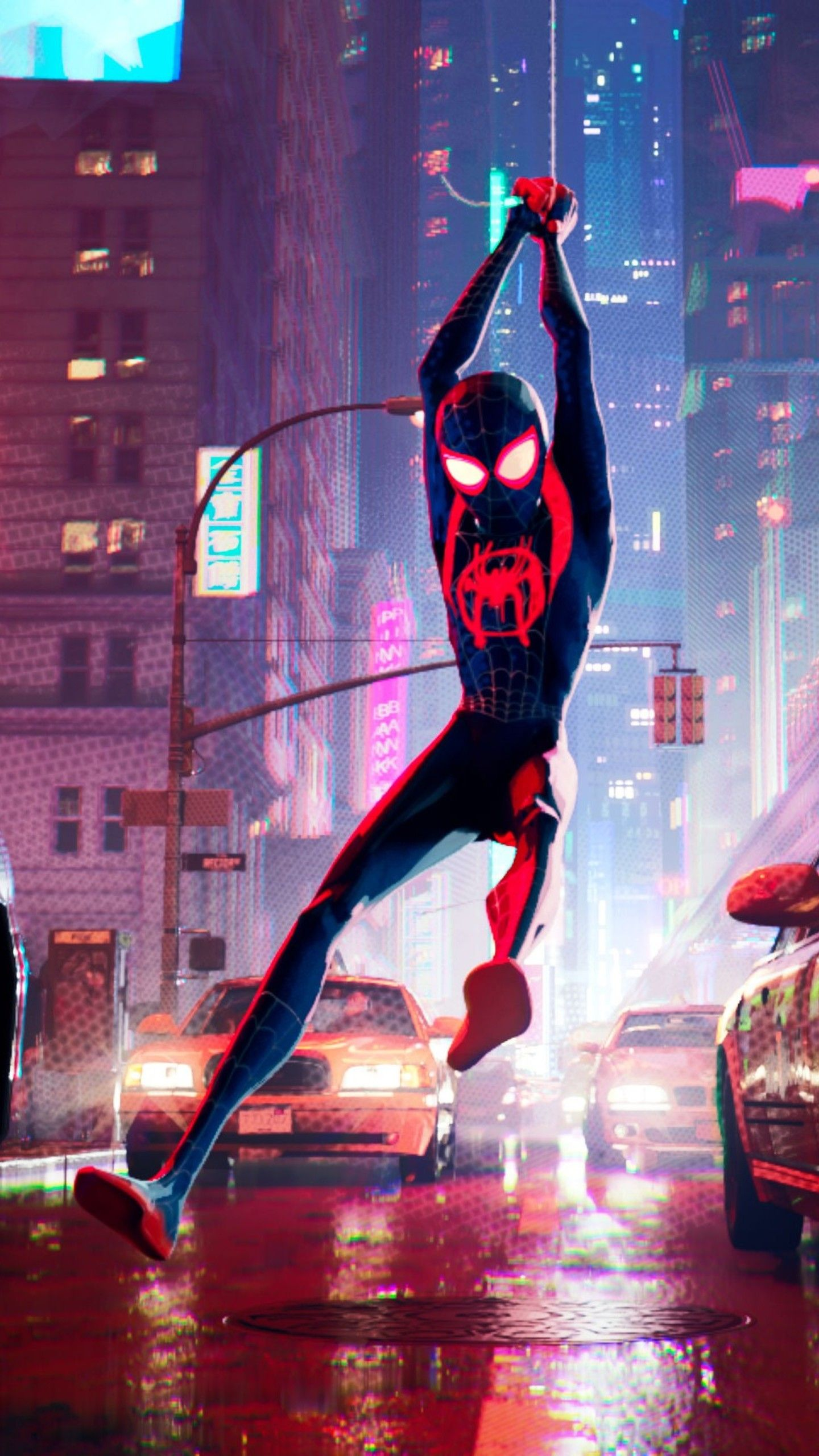 Top Spiderman Wallpapers   PS4 Homecoming Into the Spider Verse 1440x2560