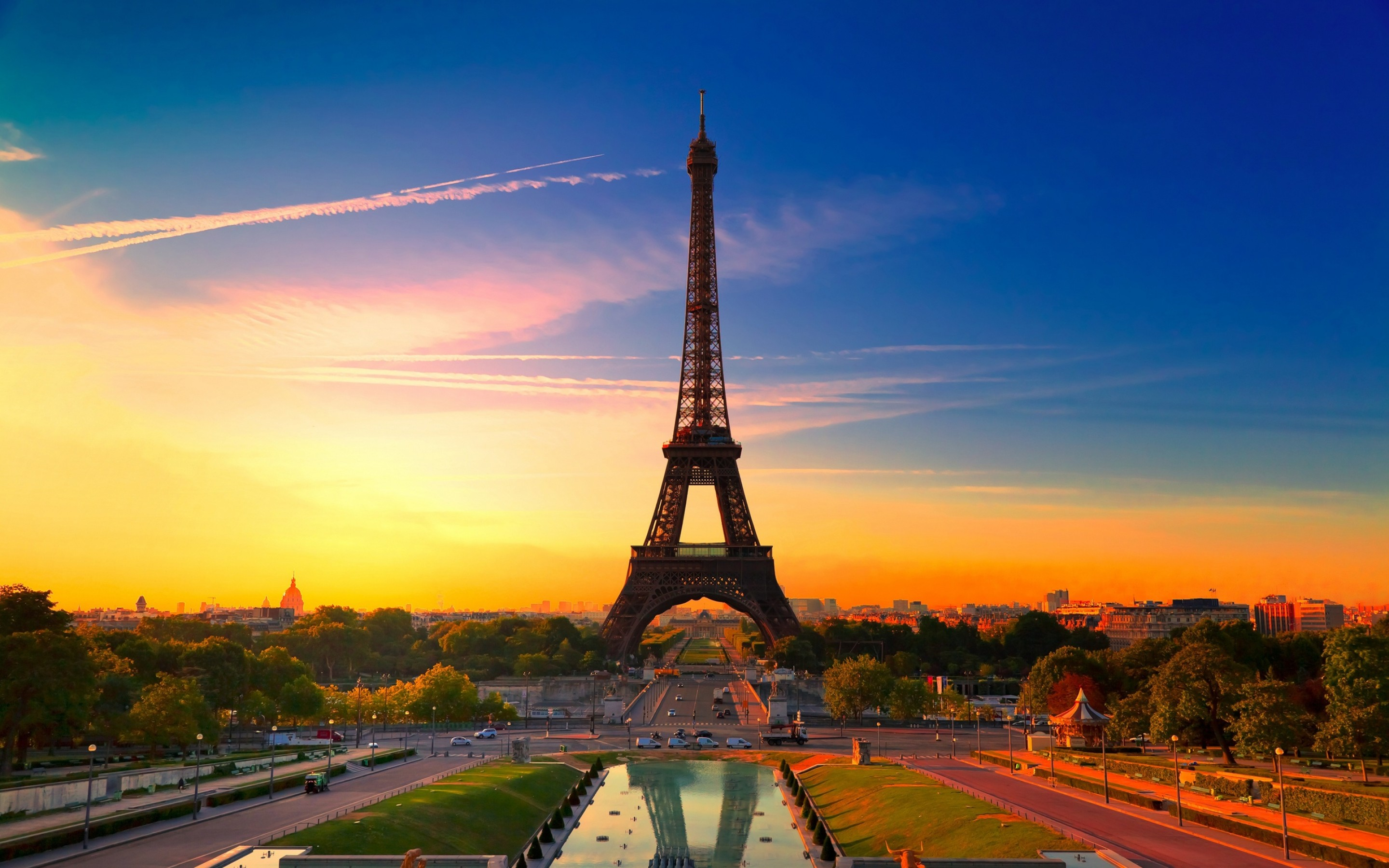Widescreen Paris Image Paris France Eiffel Tower HD Wallpapers 2880x1800