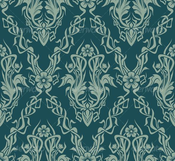 Seamless wallpaper   Patterns Decorative 590x543