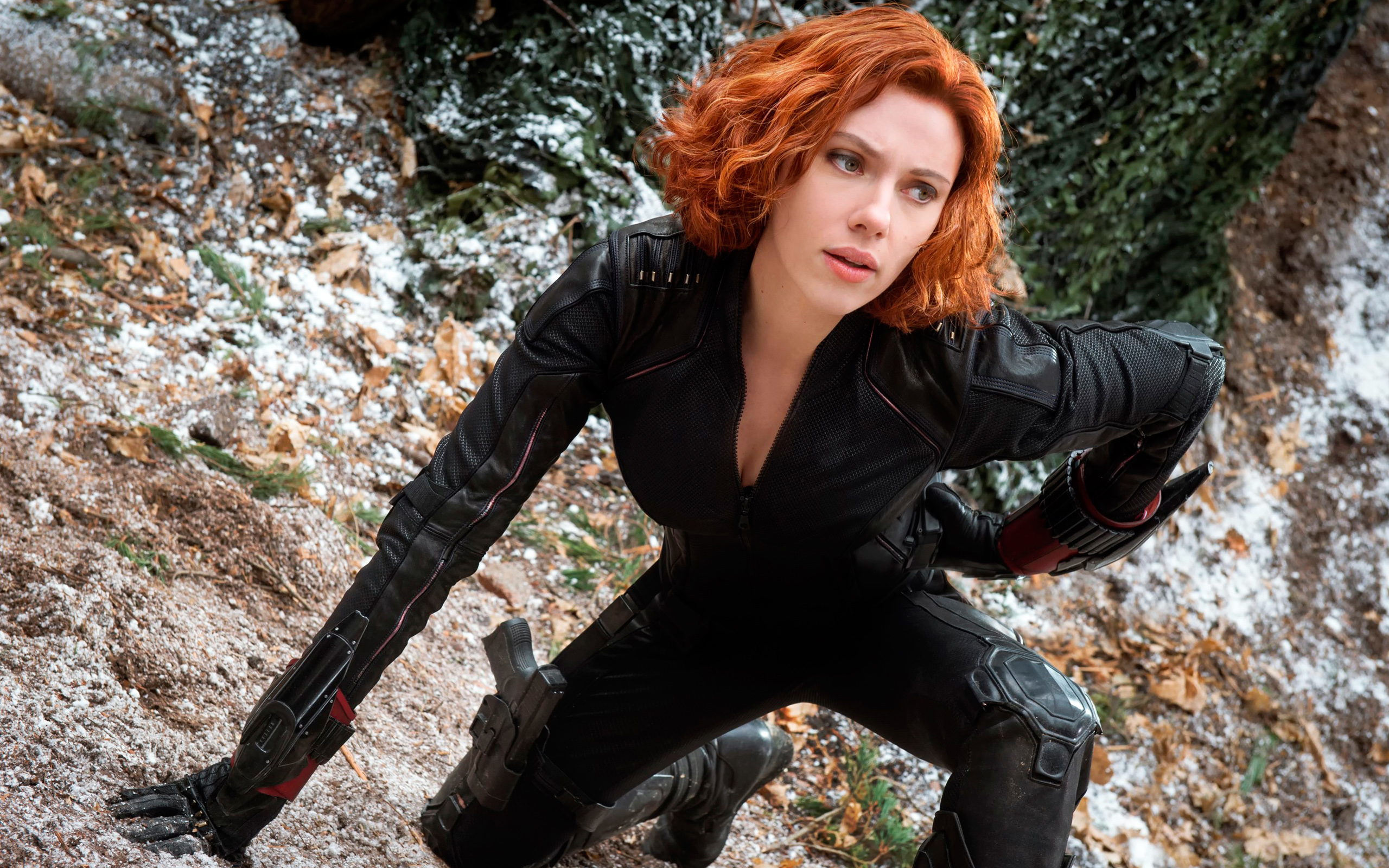 Black Widow in The Avengers 2 Wallpapers HD Wallpapers 2560x1600