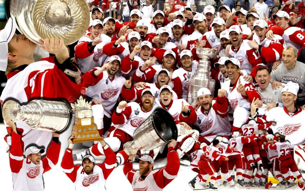 Download Red Wings Stanley Cup Wallpaper Desktop pictures in high 1024x640