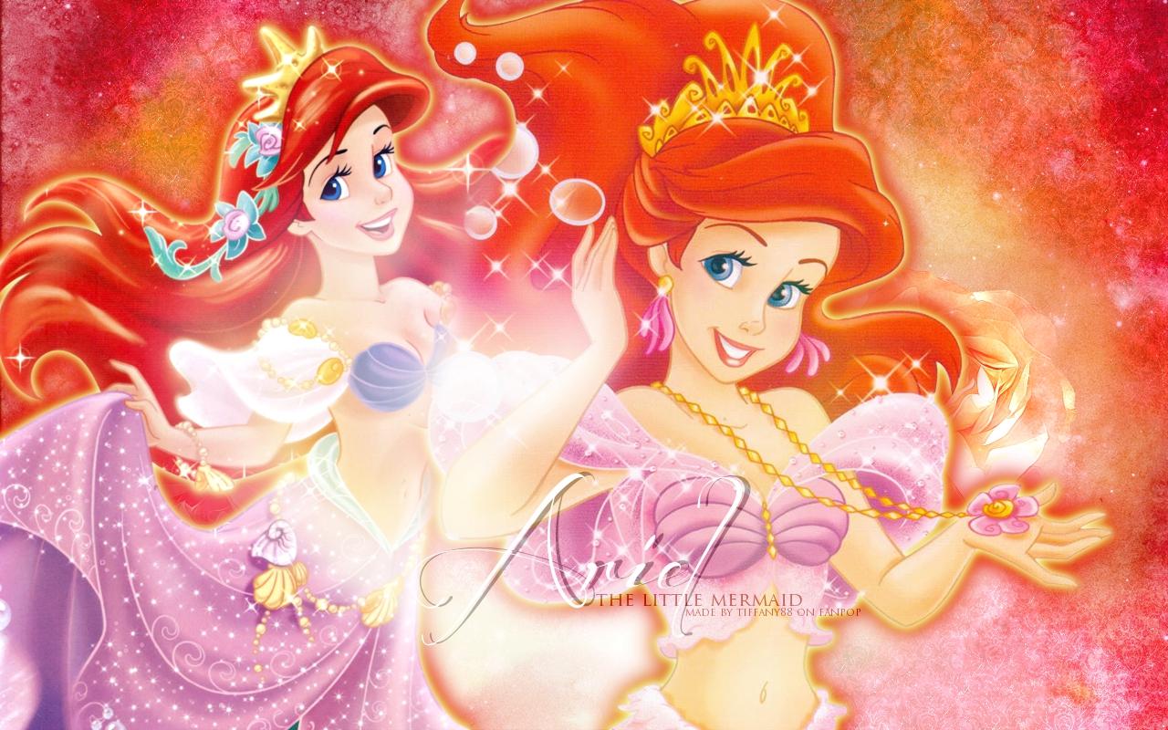 Rapunzel Bedroom Princess Ariel Wallpaper Wallpapersafari