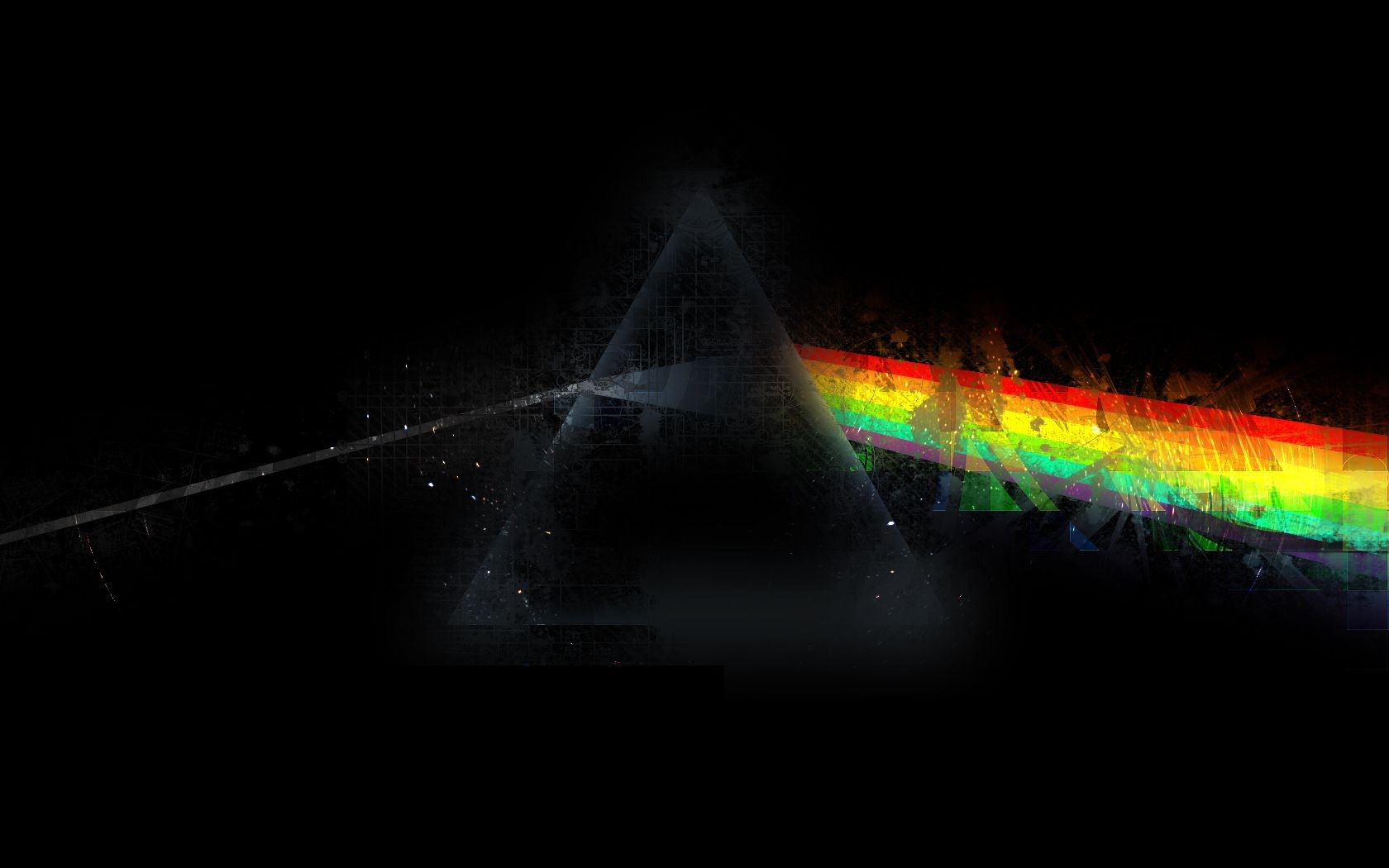 Pink Floyd Wallpaper 1680x1050 Pink Floyd Dark Side Dark Side Of 1680x1050